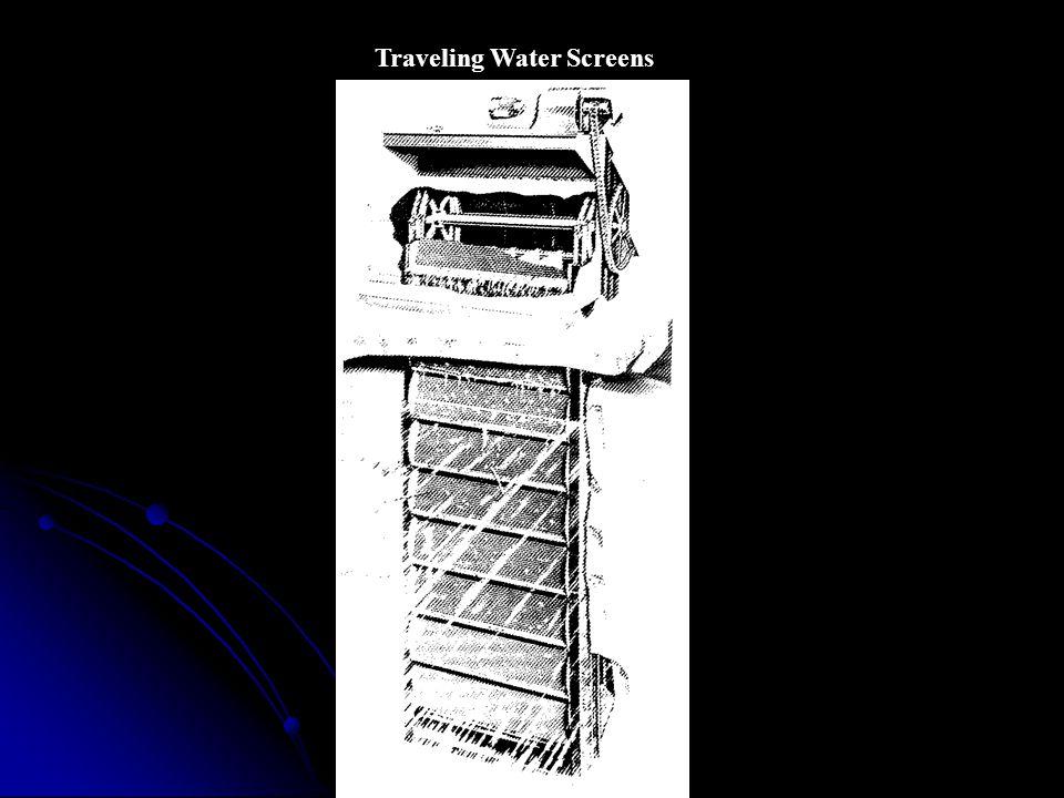 Traveling Water Screens
