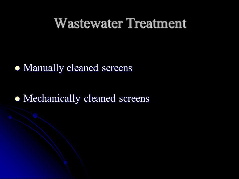 Mechanically-cleaned Bar Screen