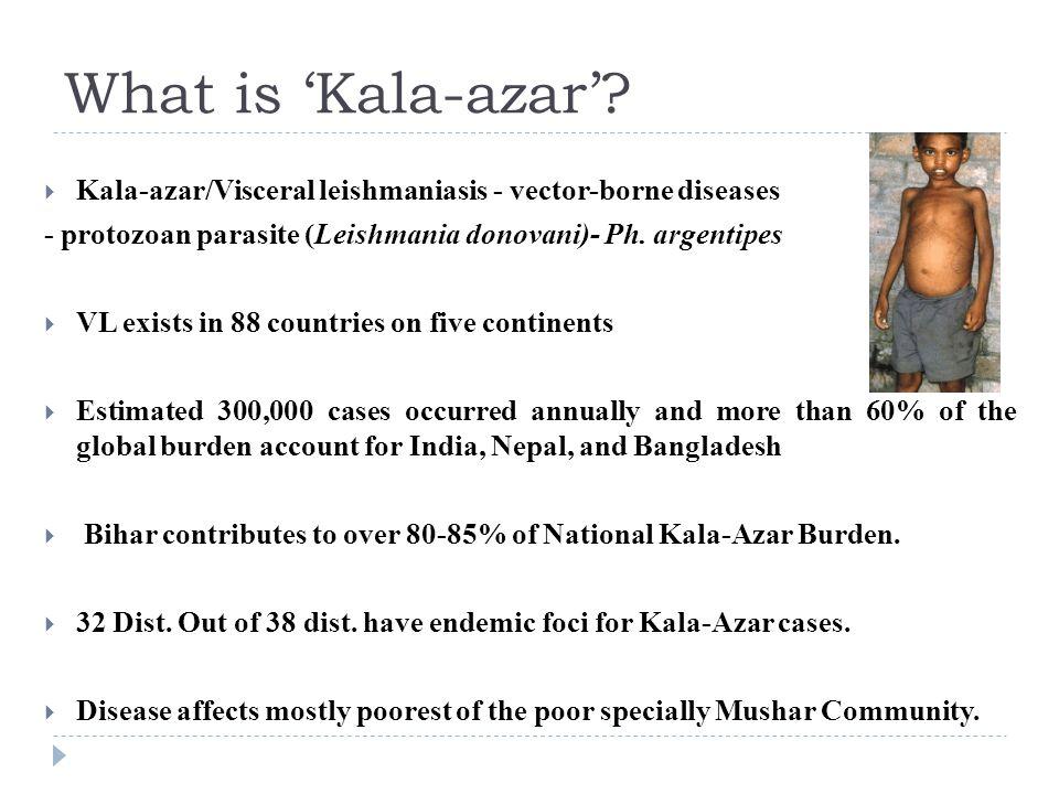 What is 'Kala-azar'.
