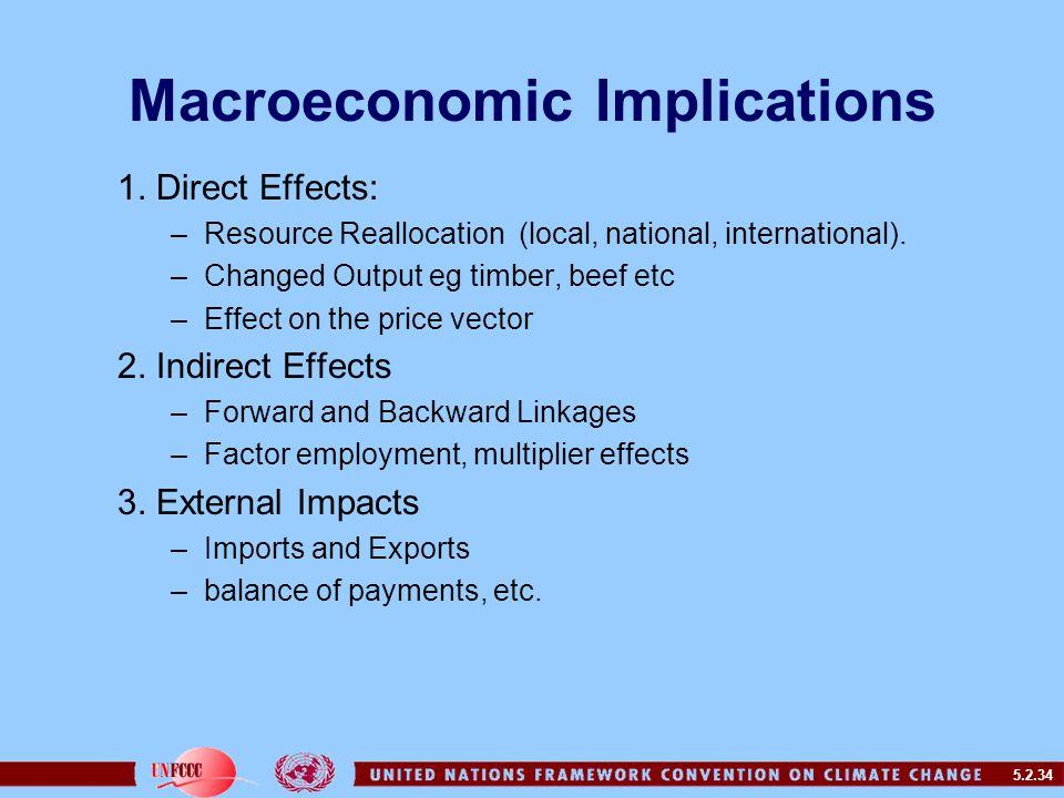 5.2.34 Macroeconomic Implications 1.