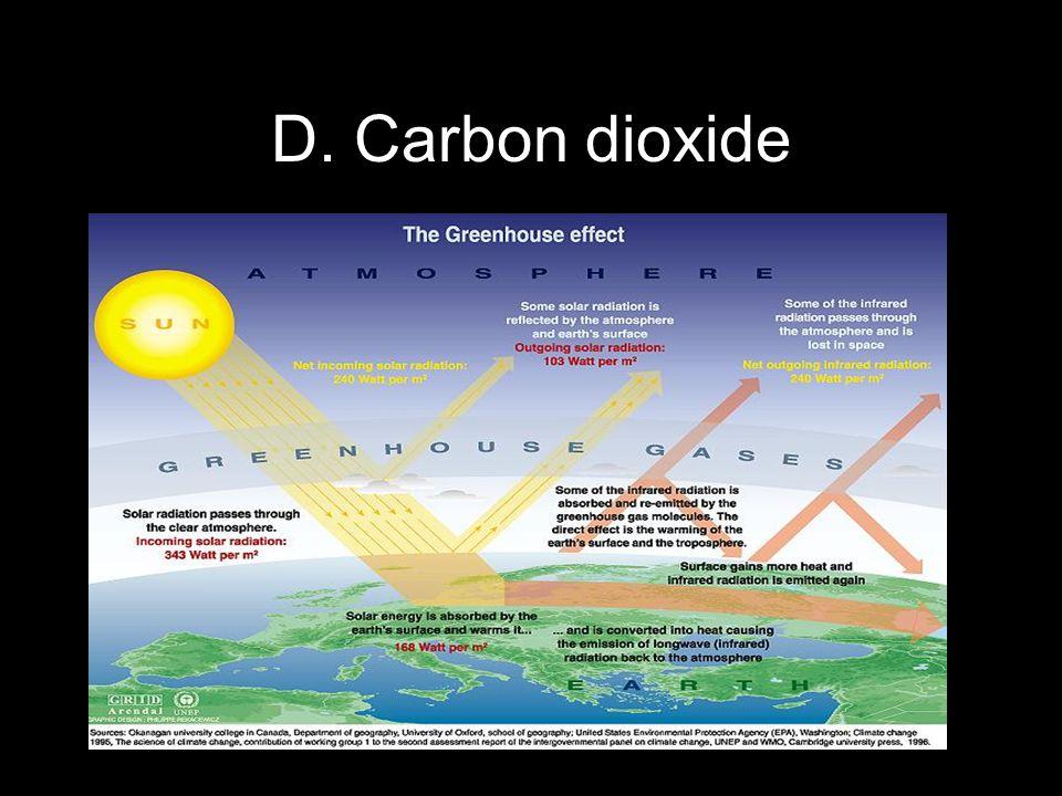 Copyright © 2010 Pearson Education, Inc. D. Carbon dioxide