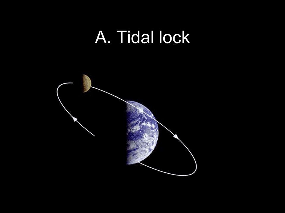 Copyright © 2010 Pearson Education, Inc. A. Tidal lock