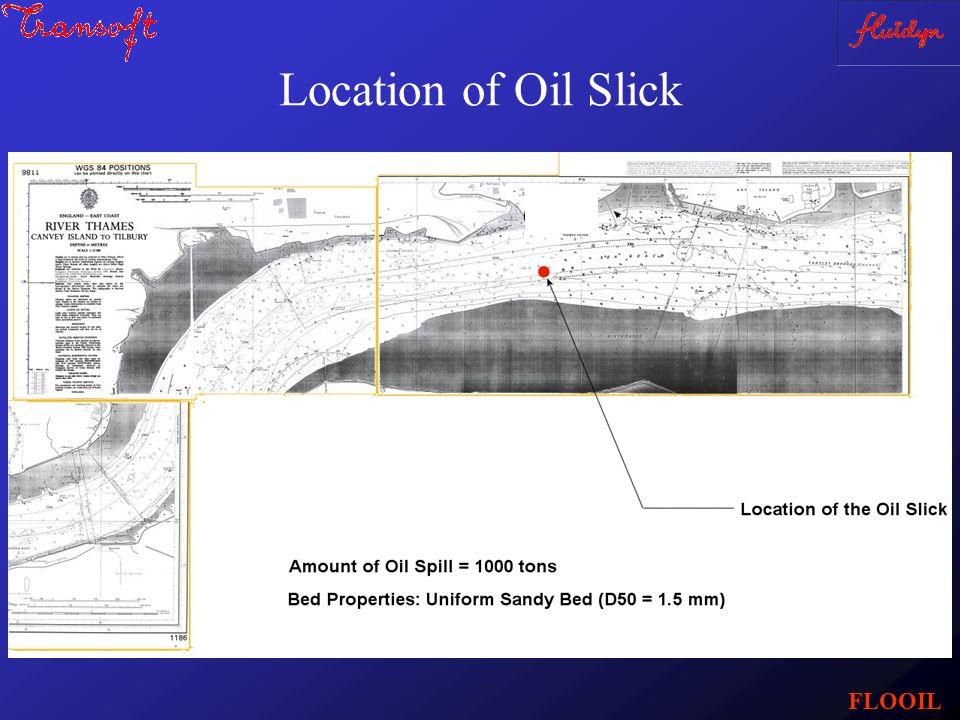 Location of Oil Slick FLOOIL