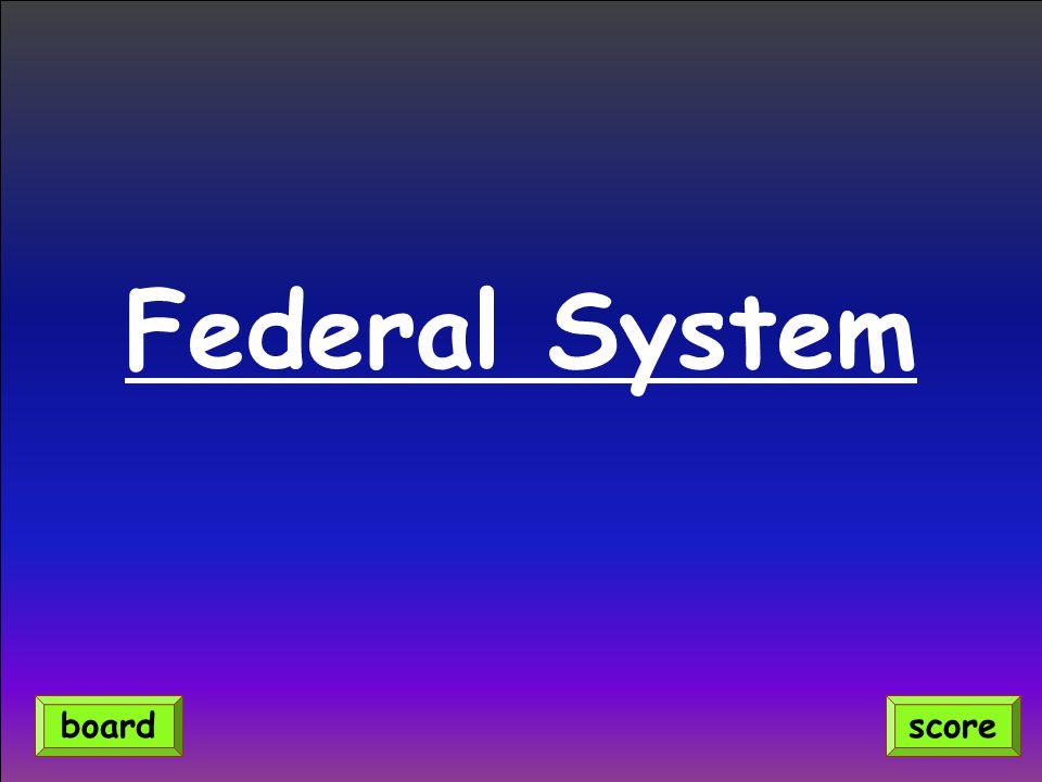 Federal System scoreboard