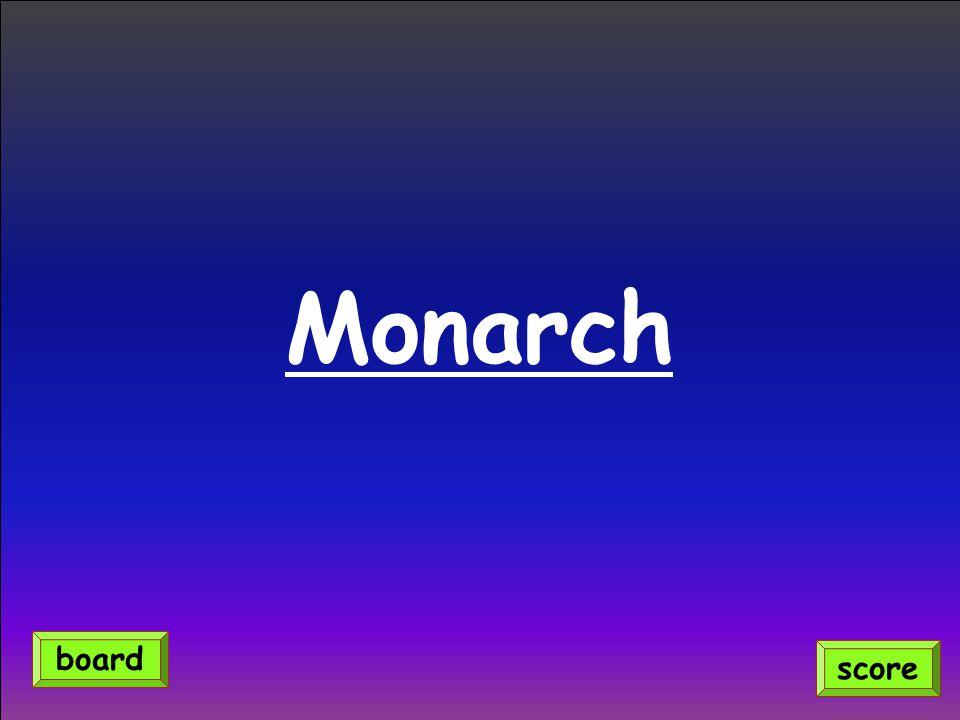 Monarch score board