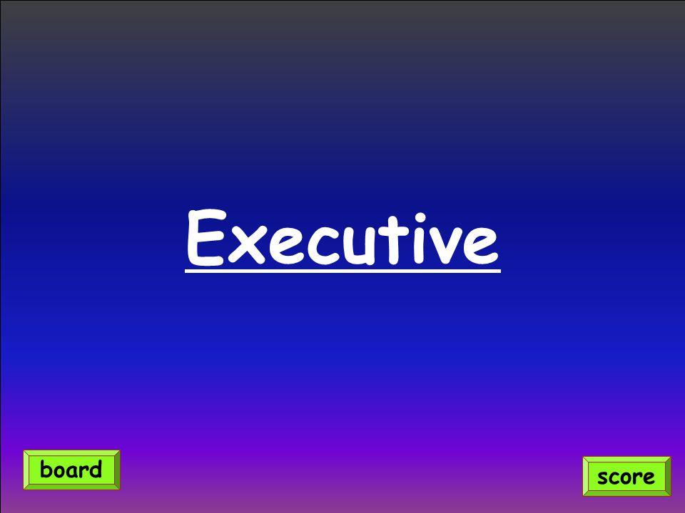 Executive score board