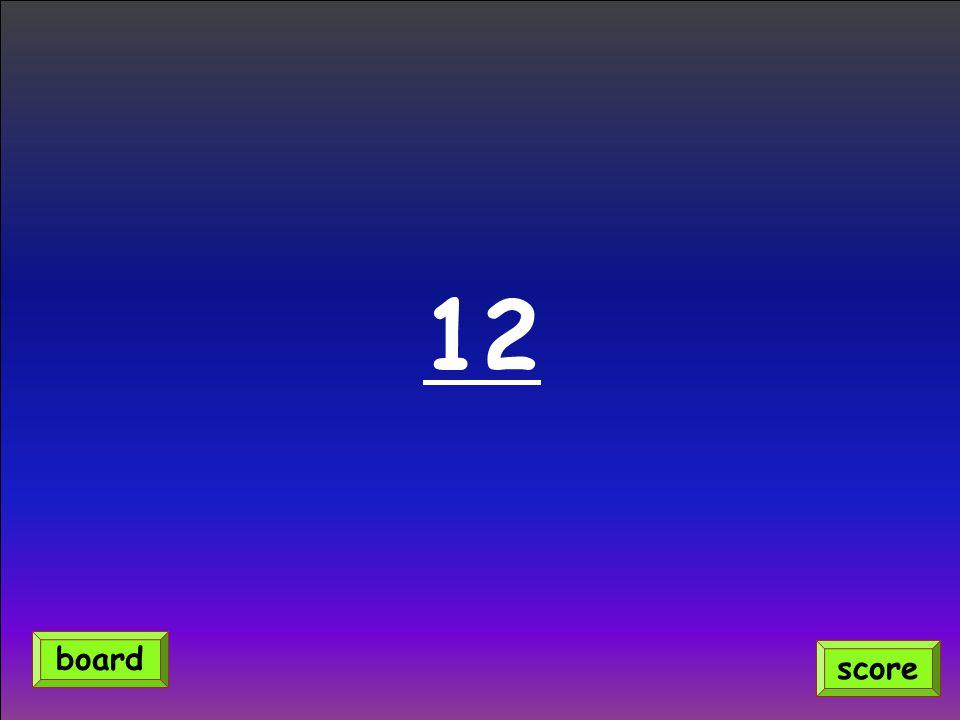12 score board