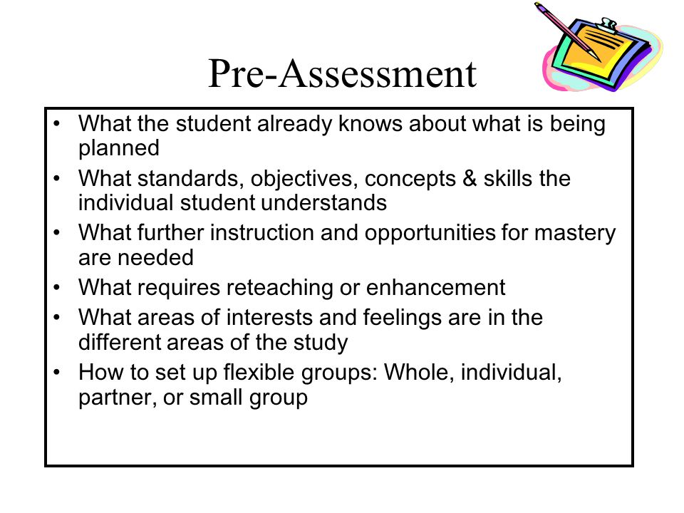 Key Principles of a Differentiated Classroom Assessment and instruction are inseparable.Assessment and instruction are inseparable. Source: Tomlinson,