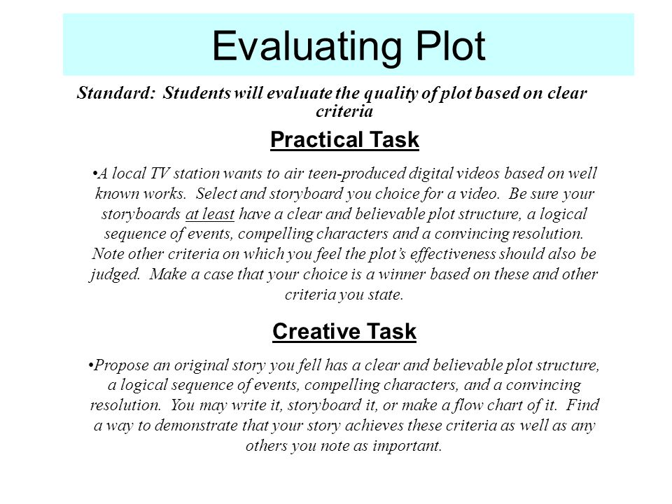 Practical Task A local TV station wants to air teen-produced digital videos based on well known works. Select and storyboard you choice for a video. B