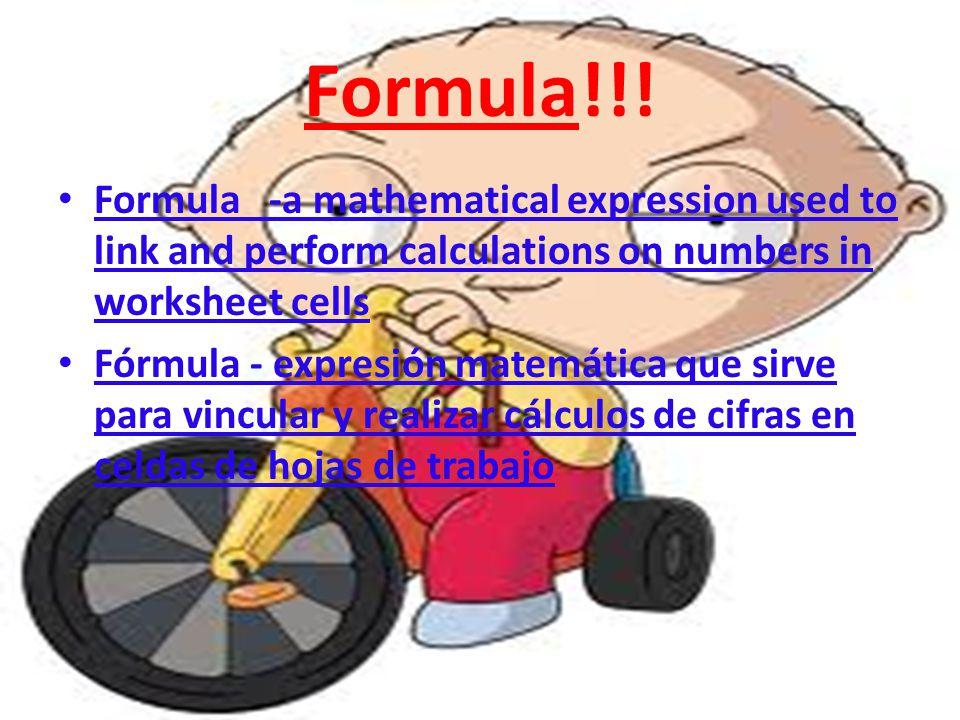 Formula!!.