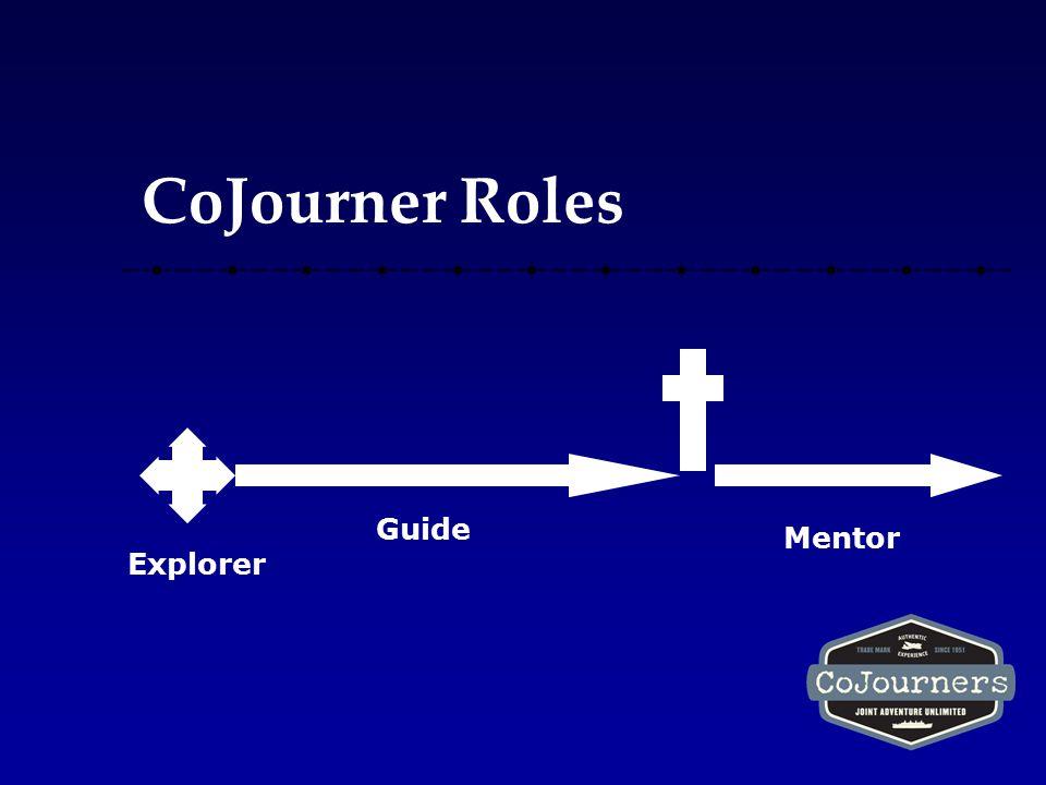 CoJourner Roles Explorer Guide Mentor