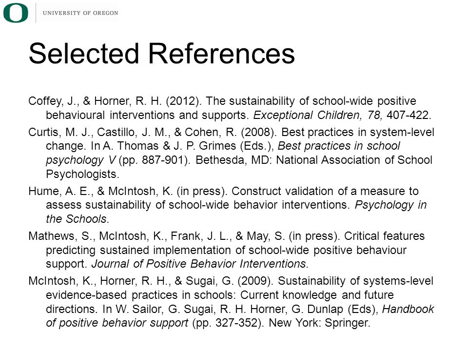 Coffey, J., & Horner, R. H. (2012).