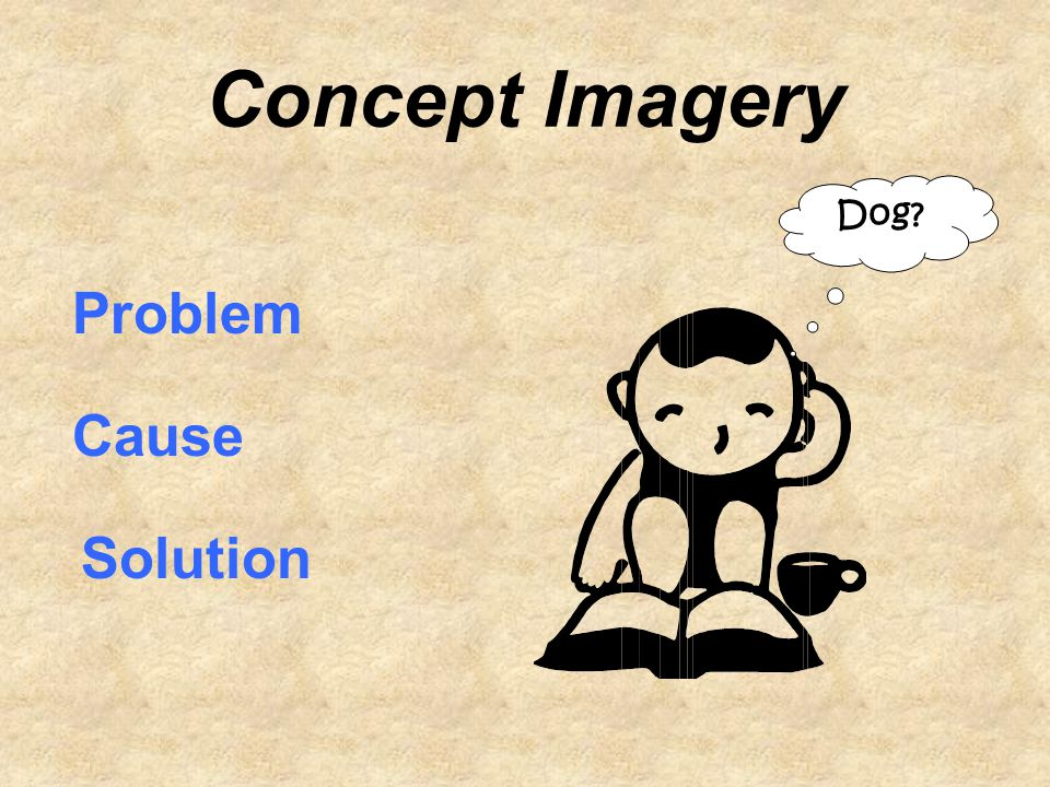 Concept Imagery Dog? Problem Cause Solution