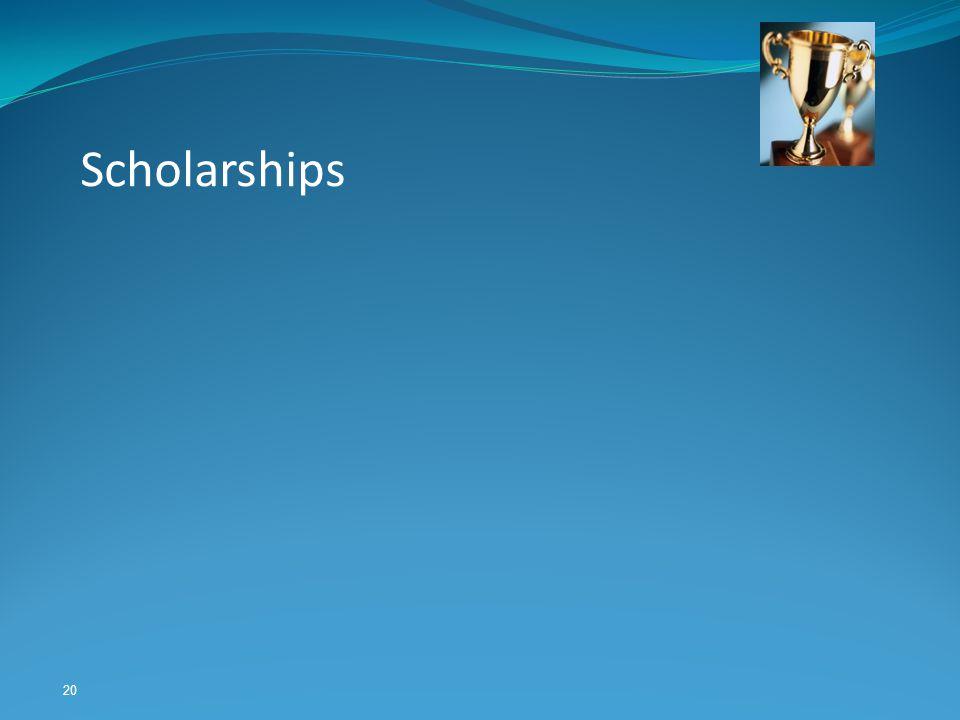 20 Scholarships