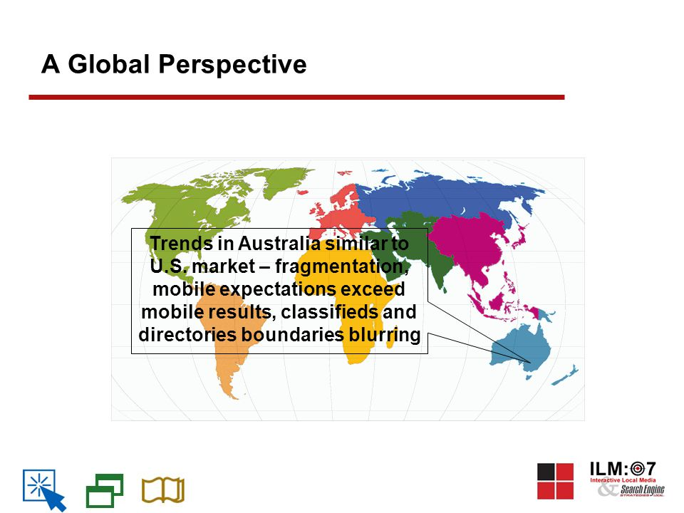 A Global Perspective Trends in Australia similar to U.S.