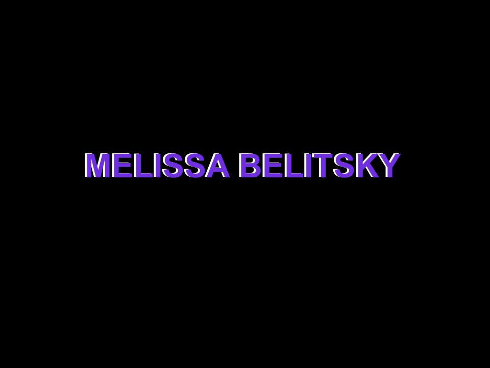 MELISSA BELITSKY