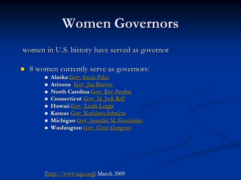 Women Governors women in U.S. history have served as governor women in U.S.