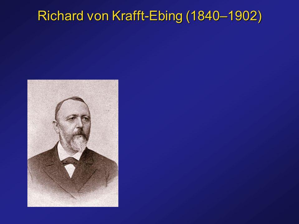 Richard von Krafft-Ebing (1840–1902)