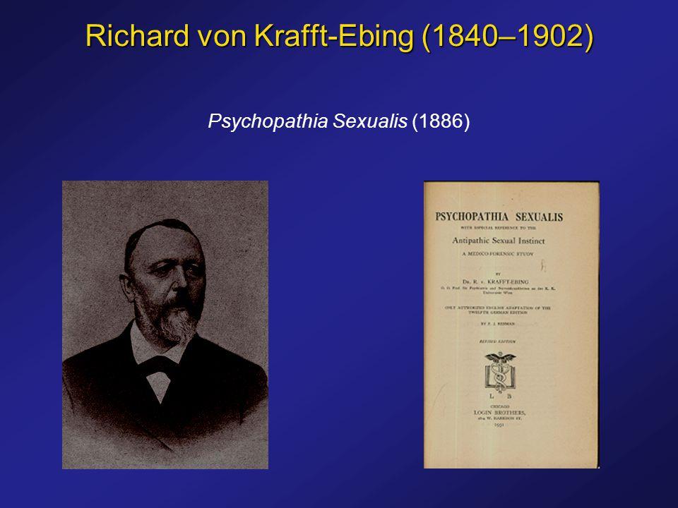 Psychopathia Sexualis (1886)