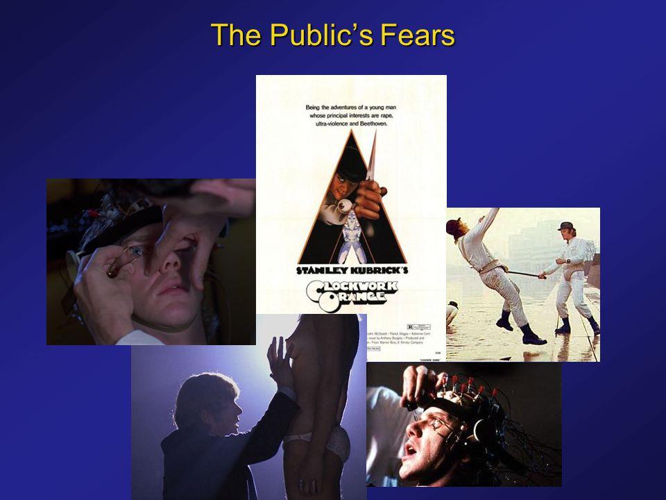 The Public's Fears