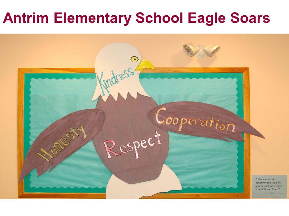 Antrim Elementary School Eagle Soars