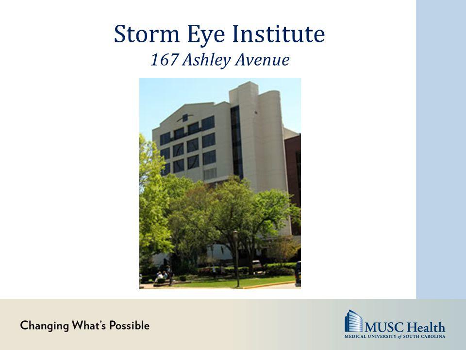 Storm Eye Institute 167 Ashley Avenue