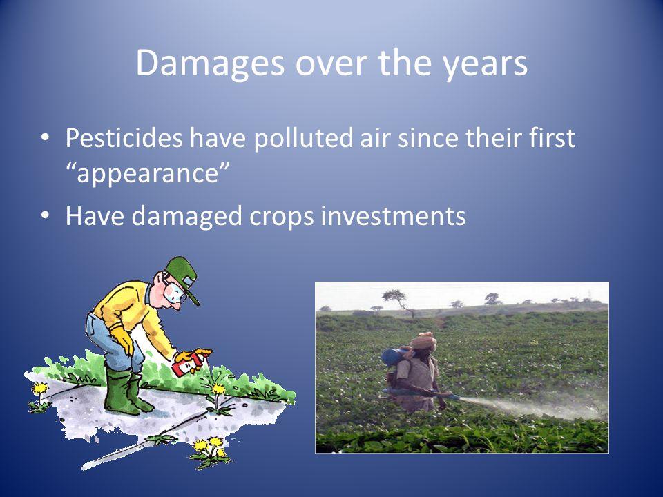 How do pesticides affect humans.