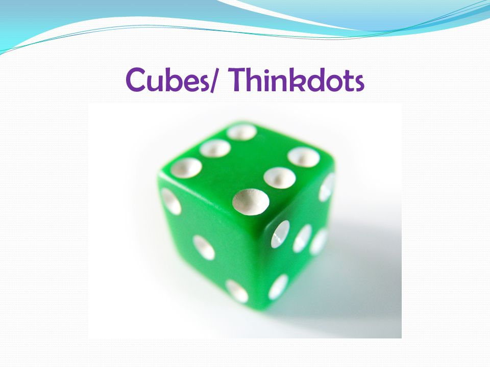 Cubes/ Thinkdots