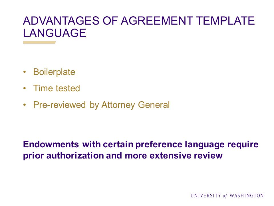 CORE ELEMENTS OF GIFT AGREEMENTS