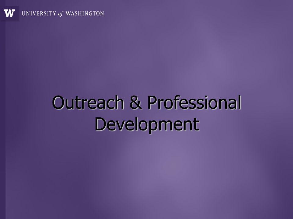 Outreach & Professional Development