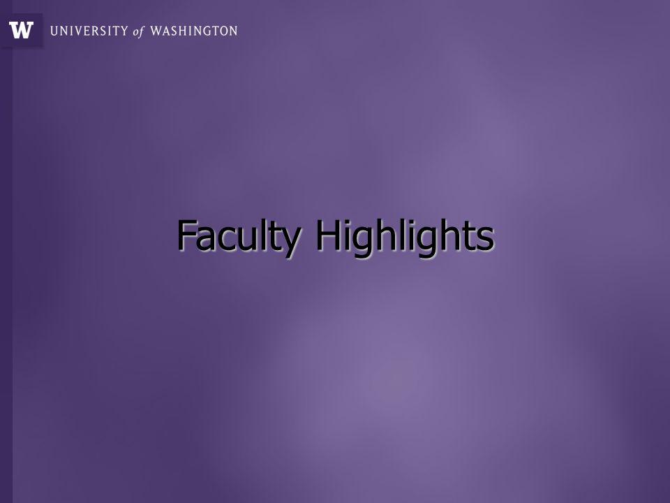 Faculty Highlights