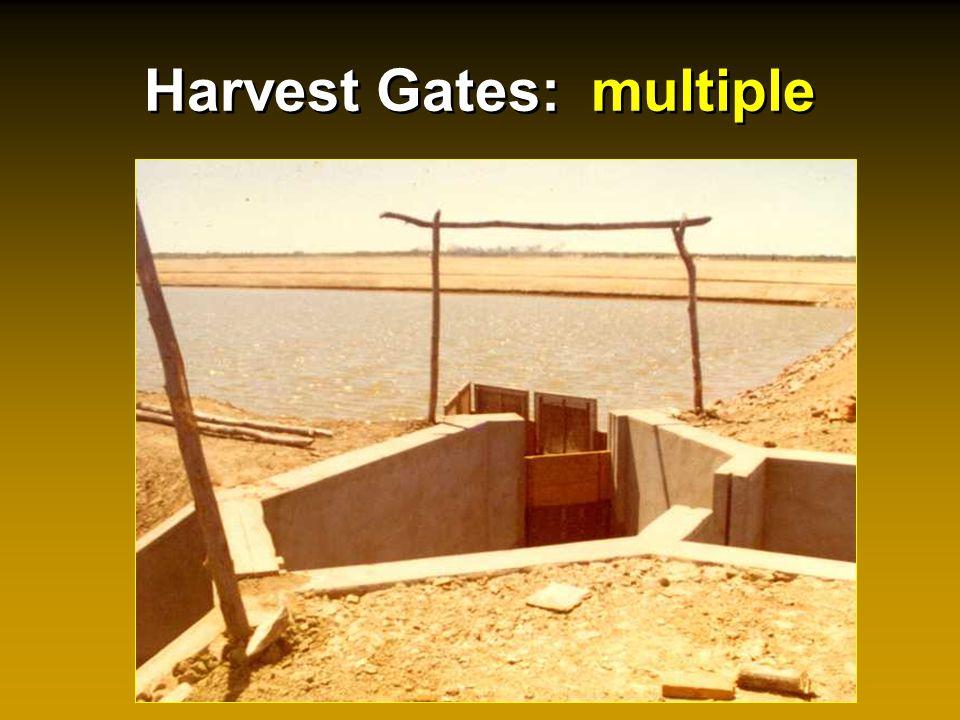 Harvest Gates: multiple