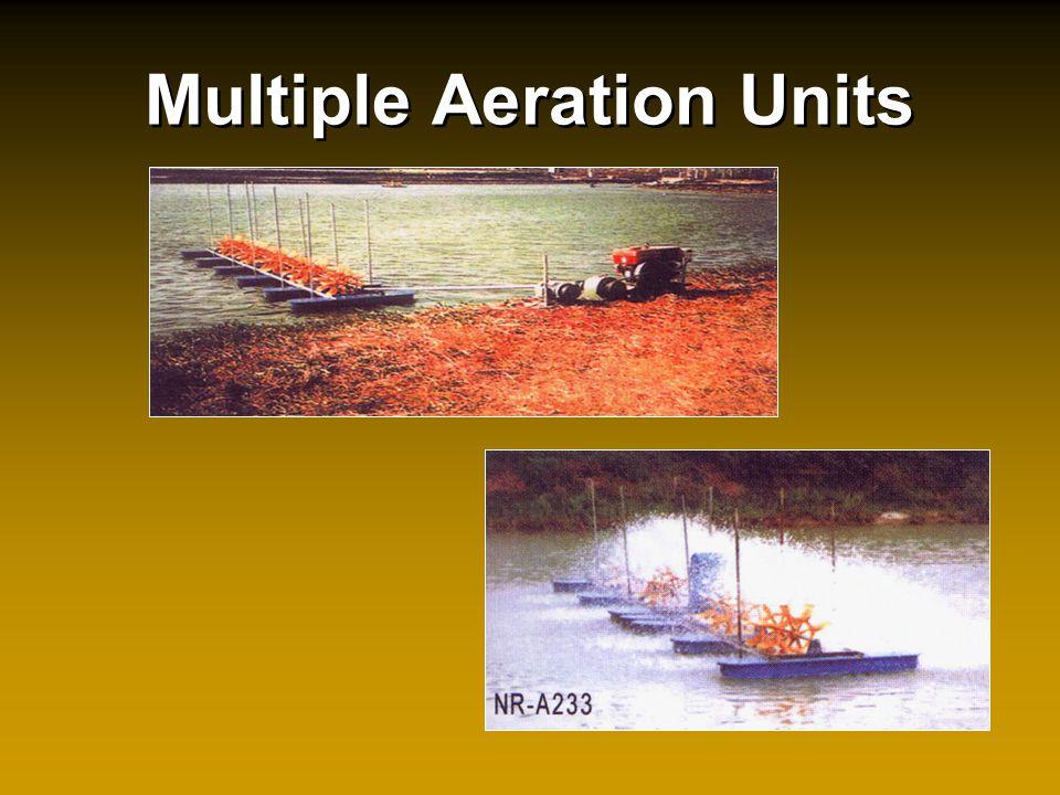 Multiple Aeration Units