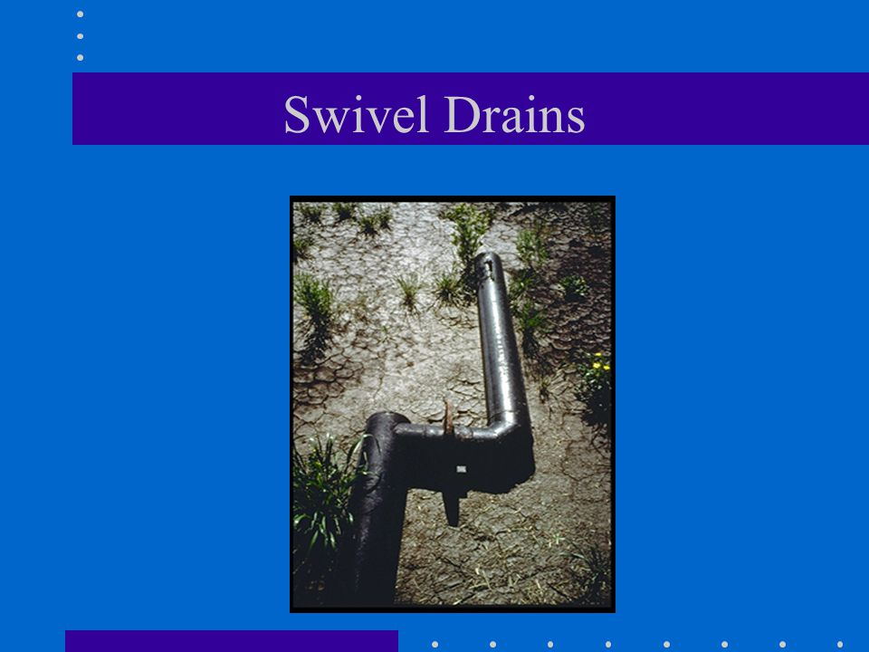 Swivel Drains