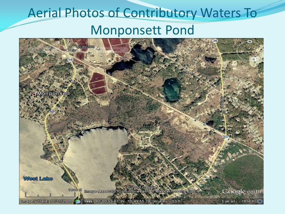 Aerial Photos of Contributory Waters To Monponsett Pond