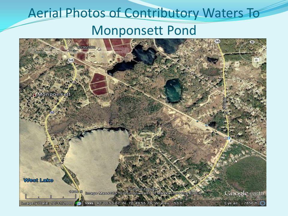 Aerial Photos of Monponsett Pond