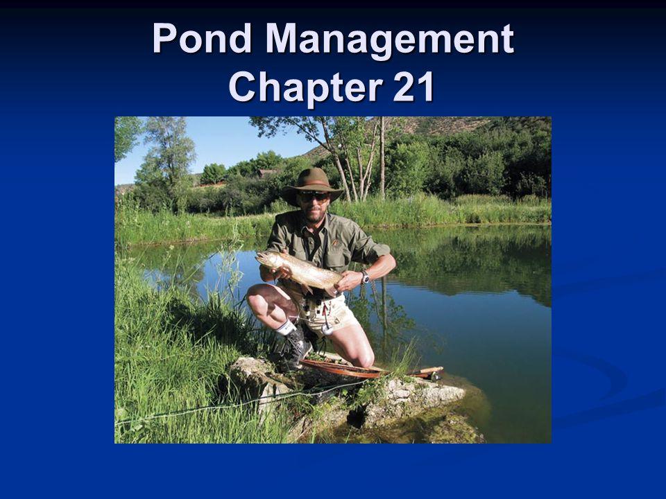 Pond Management Chapter 21