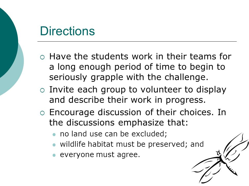 Minimize Damage  For wildlife habitat this is a 'no win activity in many ways.
