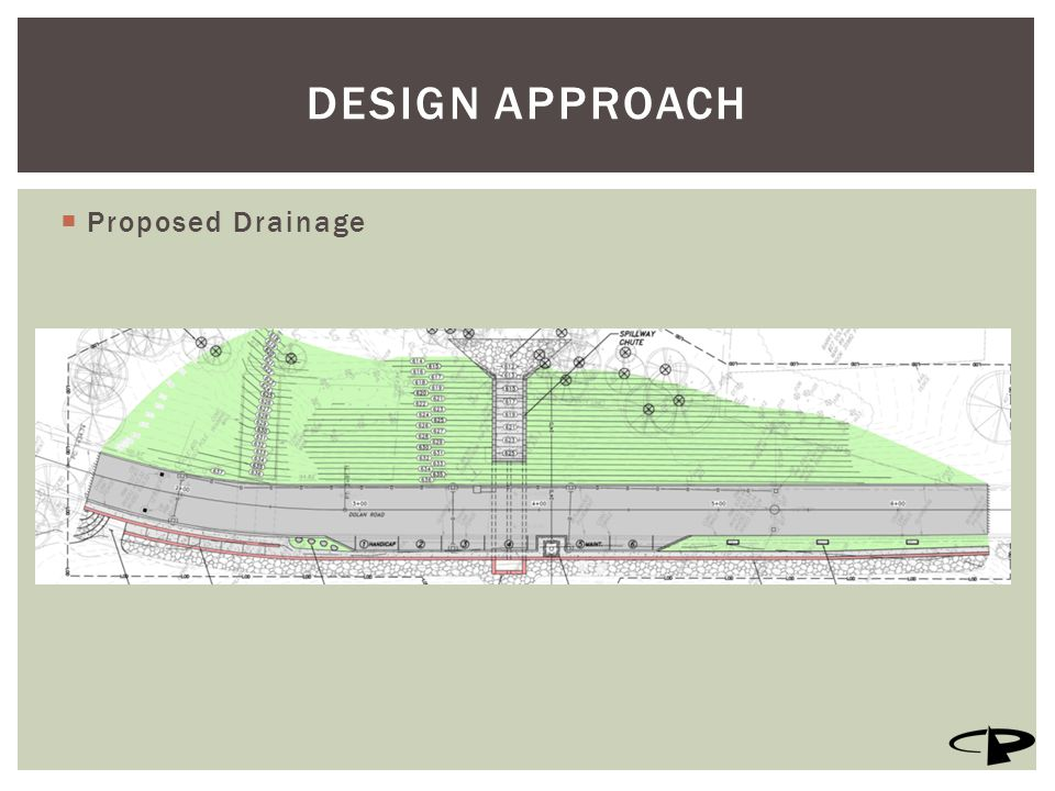  Proposed Drainage DESIGN APPROACH