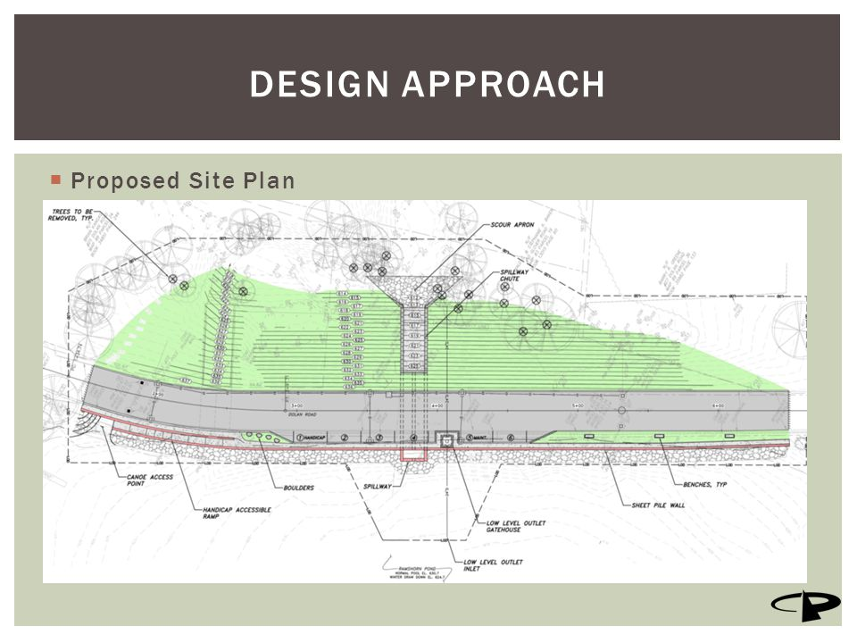  Proposed Site Plan DESIGN APPROACH