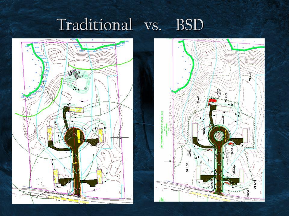 Traditional vs. BSD
