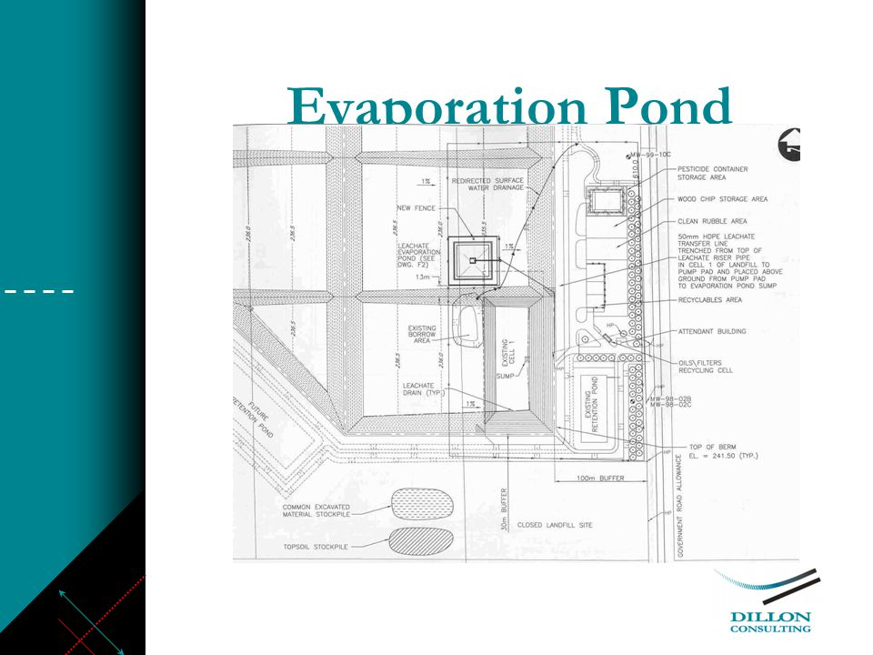 Evaporation Pond