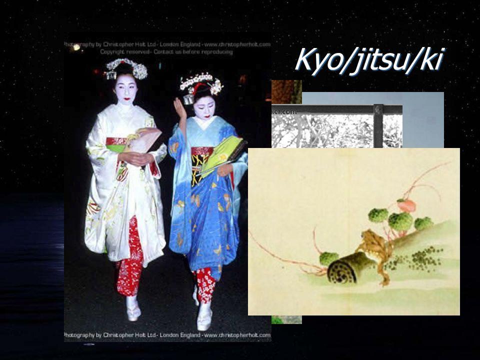 Kyo/jitsu/ki