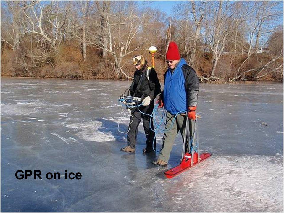 GPR on ice