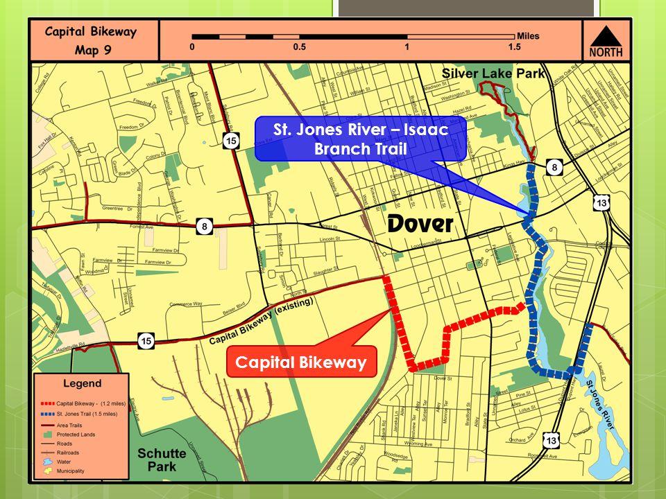 Capital Bikeway St. Jones River – Isaac Branch Trail