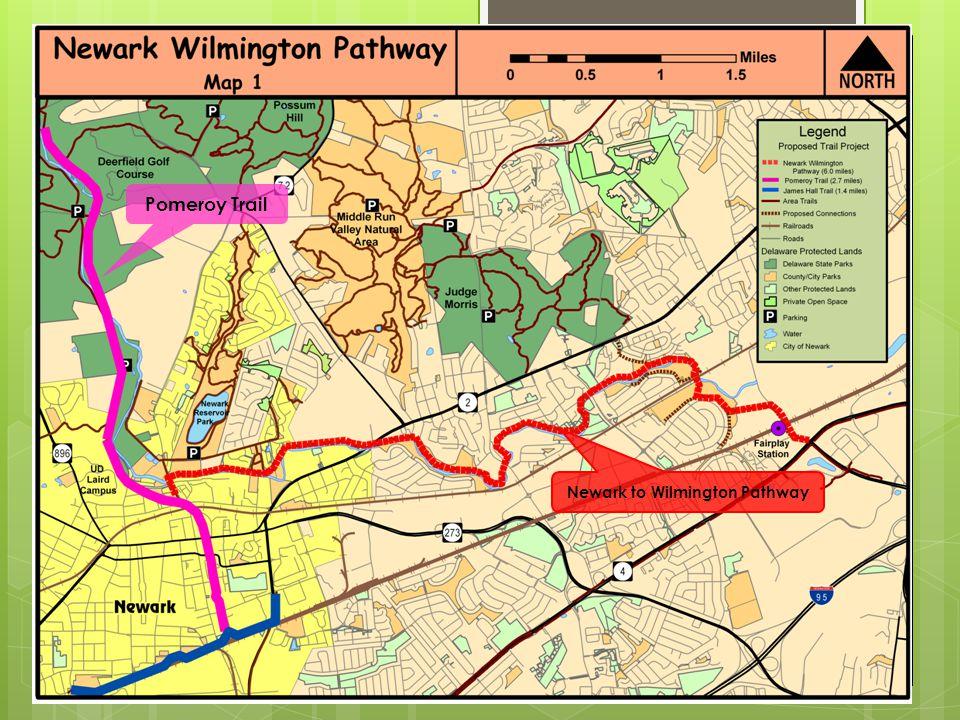 Pomeroy Trail Newark to Wilmington Pathway