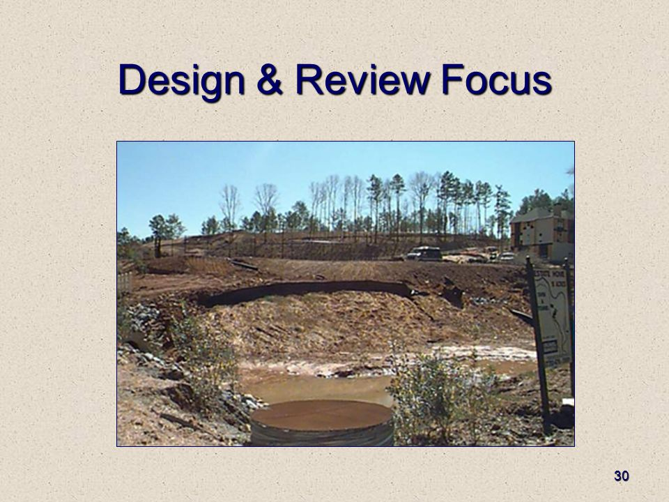 30 Design & Review Focus