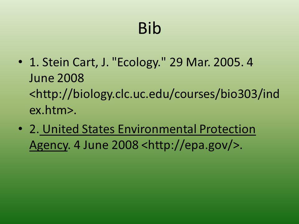 Bib 1. Stein Cart, J.