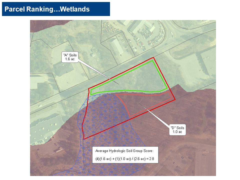 Parcel Ranking…Wetlands