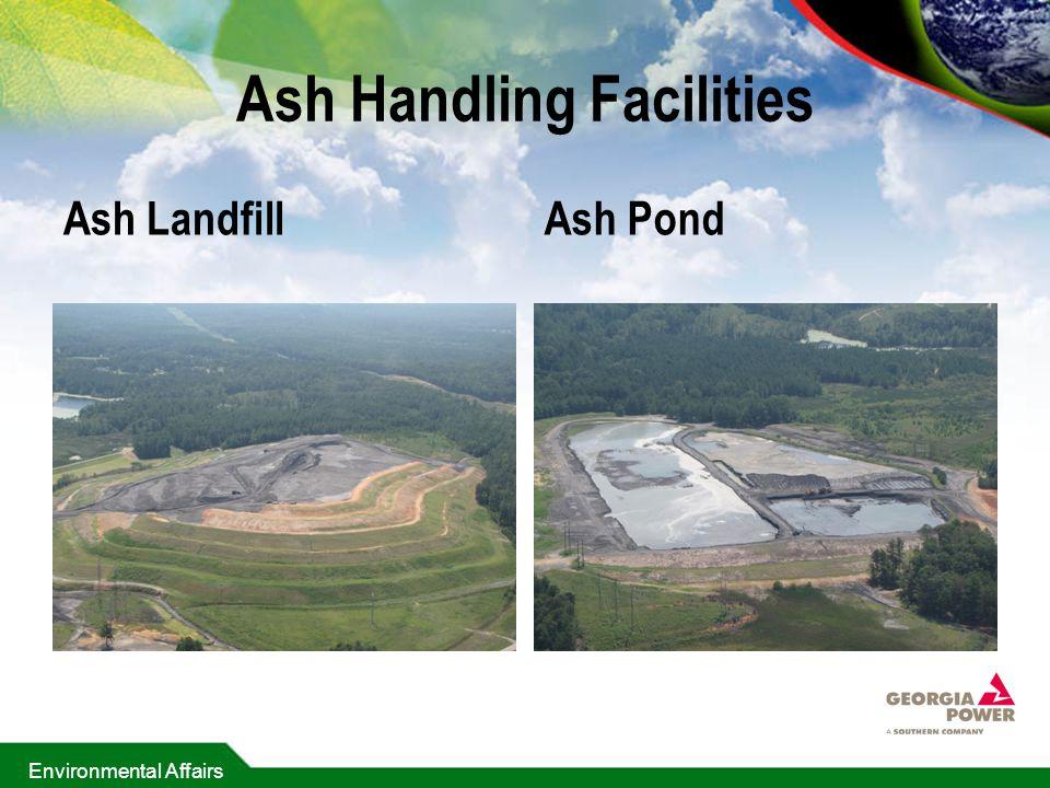 Environmental Affairs Ash Handling Facilities Ash LandfillAsh Pond